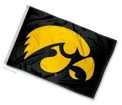 Iowa Hawkeye Flag